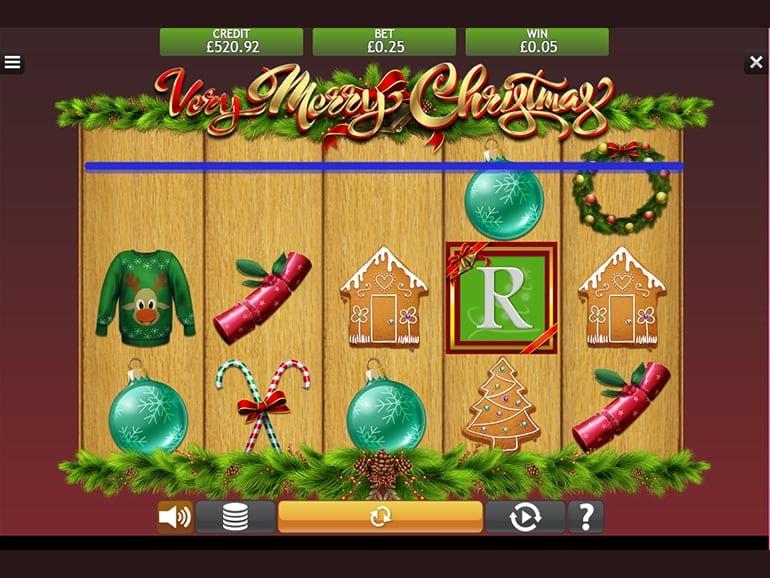 Very Merry Christmas Slot Reels