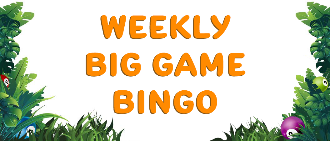 Weekly Big Game Bingo Umbingo