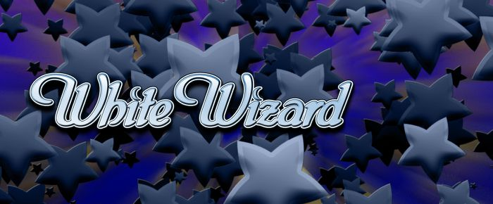 White Wizard Logo Slot