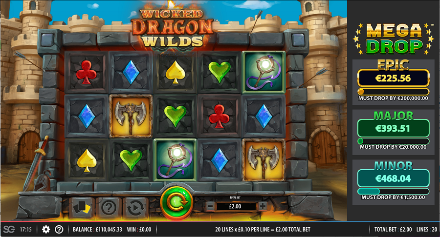 Wicked Dragon Wild Slots Game