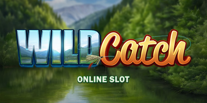 Wild Catch Slots Logo Umbingo