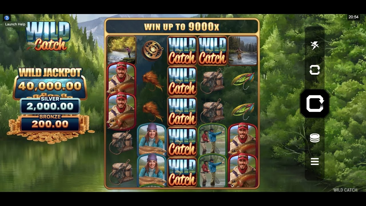 Wild Catch Slots Wilds
