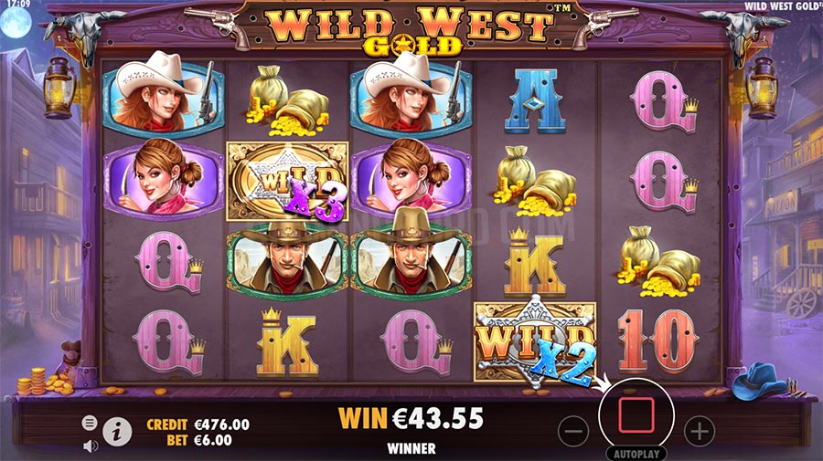 Wild West Gold Slots Game