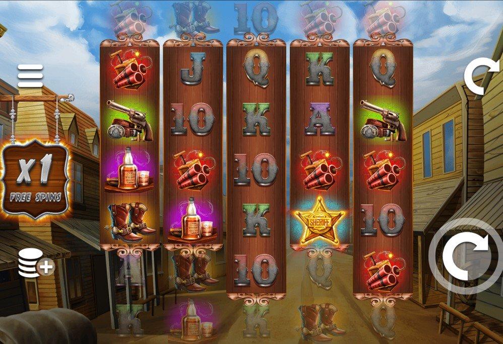Wild West Zone Slots Game