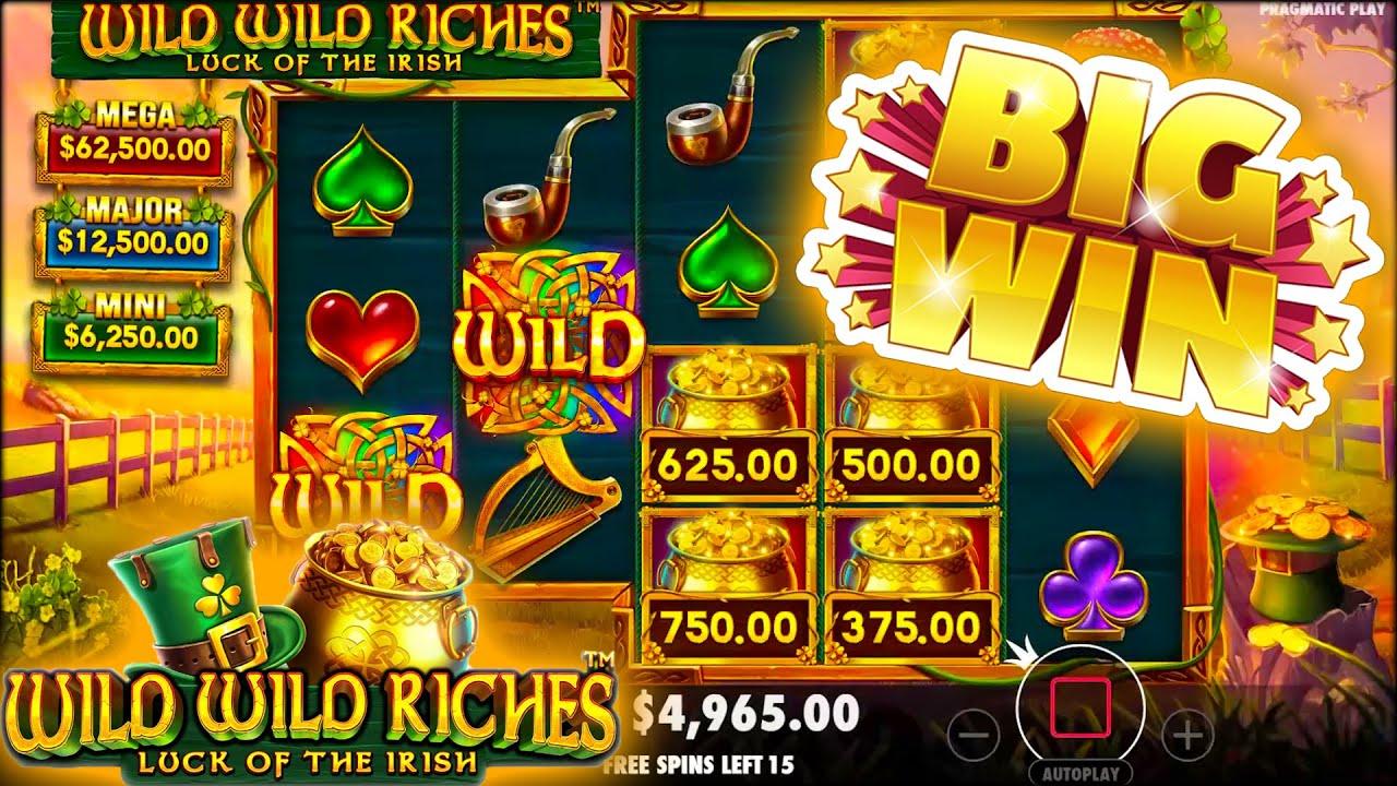 Wild Wild Riches Slots Big Win