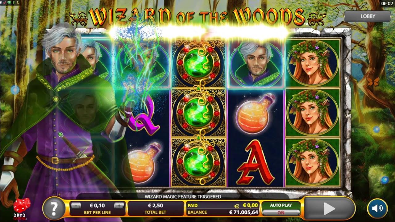 Wizard of the Woods Slot Online
