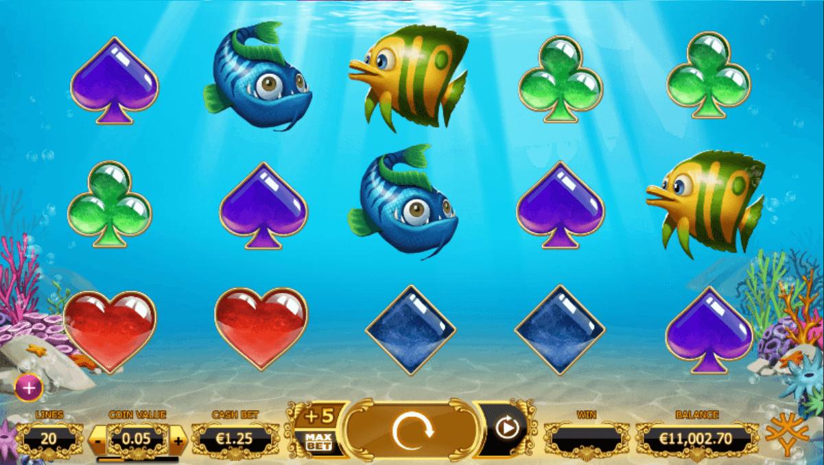 Golden Fishtank Slot Gameplay