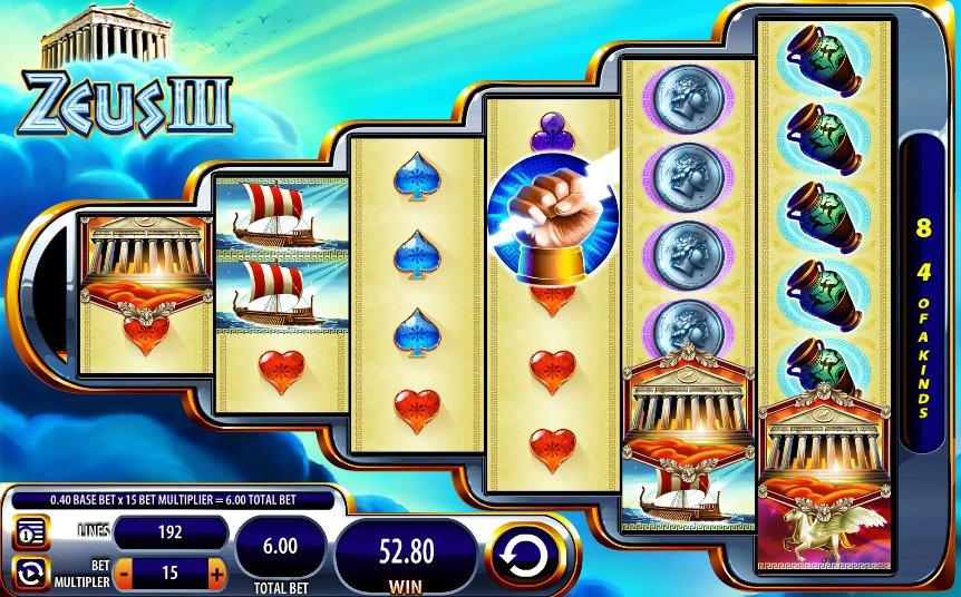 Zeus III Slots Game