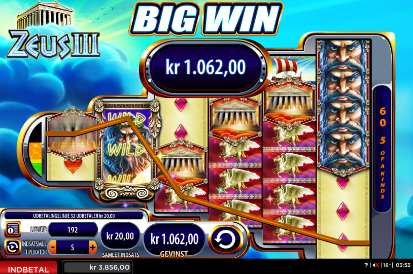 Zeus III Slot Games